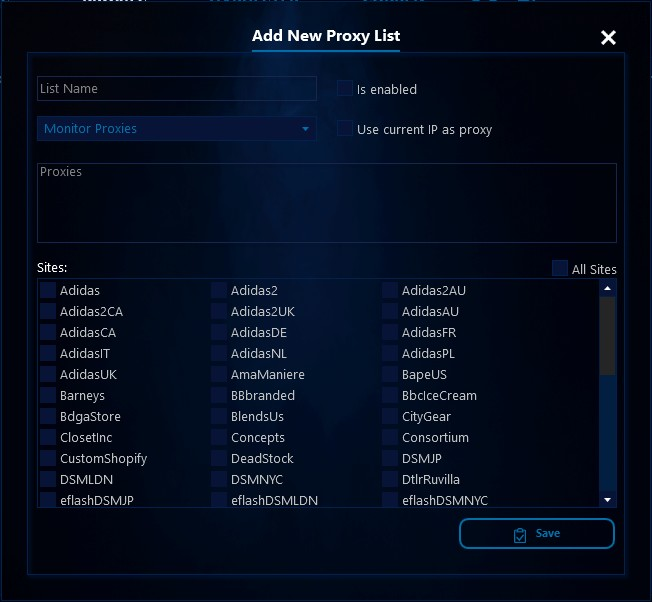 AIO V2] Inserting Proxies in AIO Bot – AIO Bot Help-center